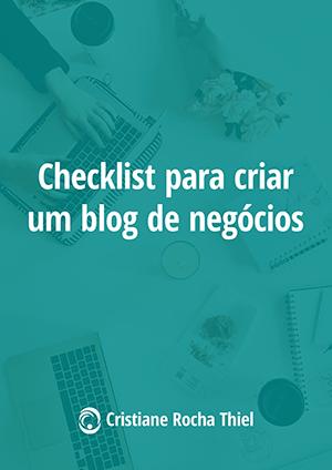 Checklist para Criar um Blog de Negócios