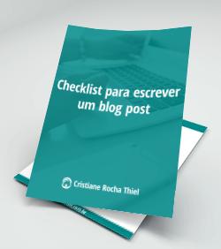 Checklist para Escrever um Blog Post