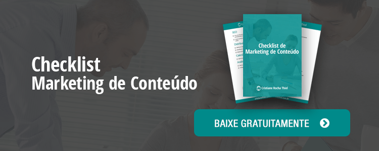checklist marketing de conteúdo