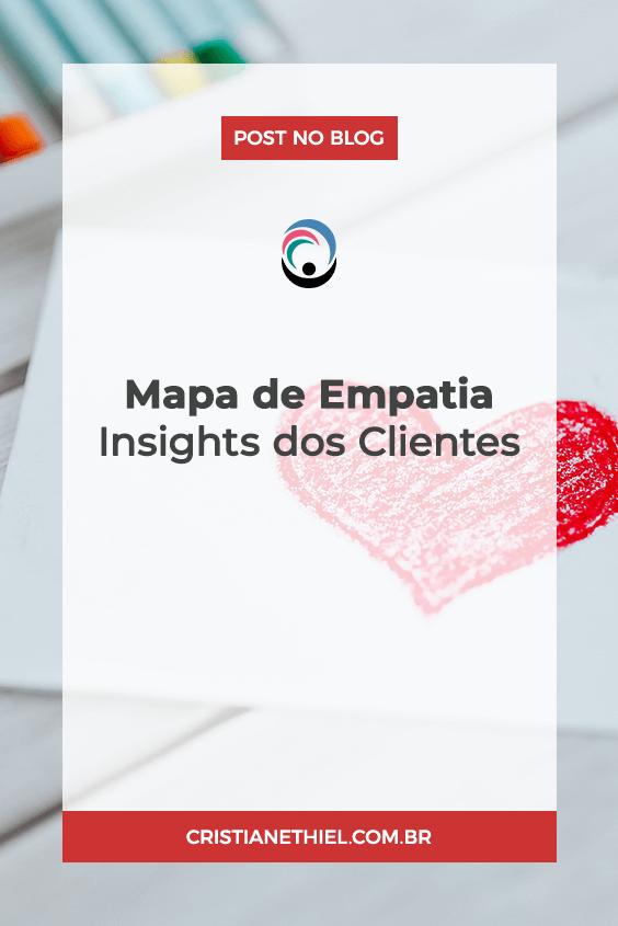 Mapa de Empatia: Insights dos Clientes