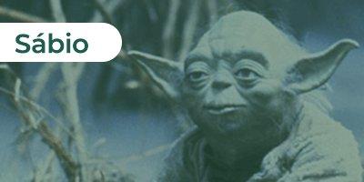 A sabedoria de Yoda como o sábio em Guerra nas Estrelas
