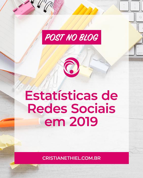 Estatísticas de Redes Sociais em 2019