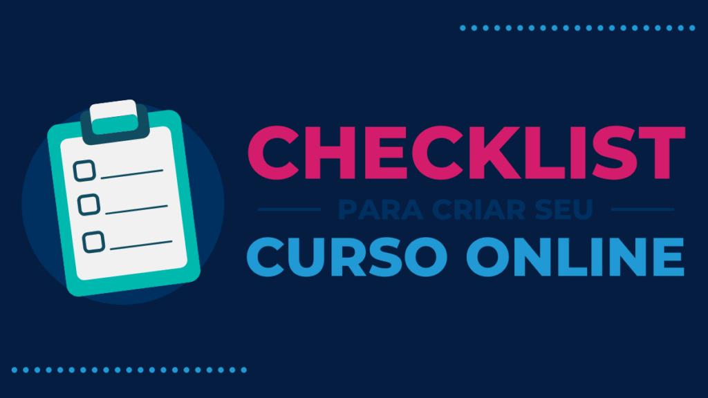 Checklist para Criar seu Curso Online