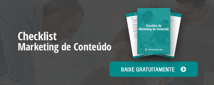 Checklist de Marketing de Conteúdo